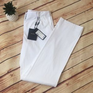 Authentic dolce & Gabbana NWT white trousers